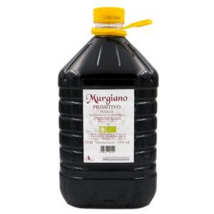 vino rosso bio puglia