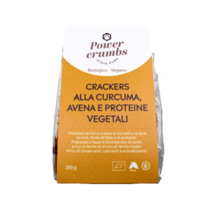 CRACKERS ALLA CURCUMA E AVENA BIO 200 gr