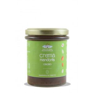 Crema di mandorla e cacao della Fattoria della mandorla