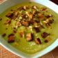 Crema di Broccolo Romanesco con Tempeh Affumicato