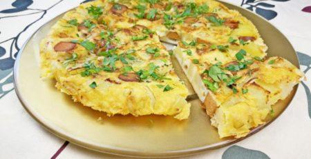 frittata senza uova con farina di ceci