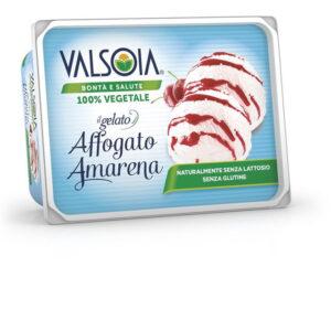 GELATO IN VASCHETTA BIANCO E AMARENA 500 gr