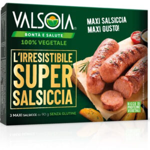 SUPER SALSICCIA VALSOIA 3 X 90 gr