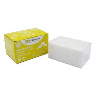Shampoo solido lenitivo