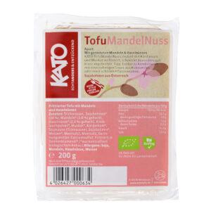 TOFU CON MANDORLE E NOCCIOLE TOSTATE 200 gr