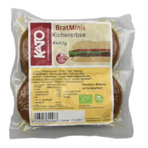 MINI BURGER DI CECI BIO 160g