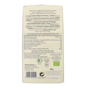 Tavoletta di pasta di Cacao crudo 80% BIO 50 gr