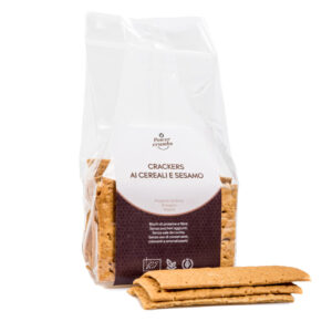 crackers ai cereali e sesamo
