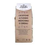 CROSTONE AI FUNGHI MEDICINALI E CEREALI 200G crostone ai funghi medicinali e cereali A