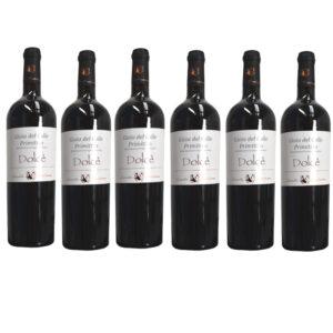 DOLCE' - PRIMITIVO GIOIA DEL COLLE AMABILE BIO 75cl bauletto 6 bottiglie