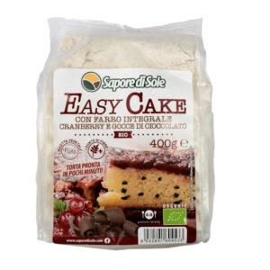 EASY CAKE CON FARRO INTEGRALE CRANBERRY E GOCCE DI CIOCCOLATO 400g