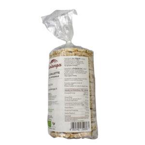 GALLETTE DI RISO INTEGRALE BIO 120 gr