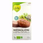 MEDAGLIONI DI SEITAN CON CIPOLLA 190 GR