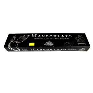 """MANDORLATO il """"TORRONE"""" VEG 200g"""