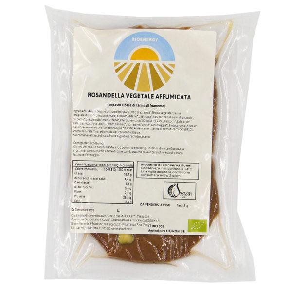 Rosandella vegetale affumicata Bioenergy