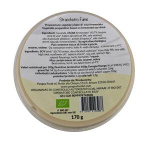 STRACCHETTO FUME - STRACCHINATO AFFUMICATO BIO 170 gr