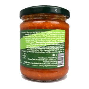 RAGU' VEGETALE CON GONDINO 180 gr