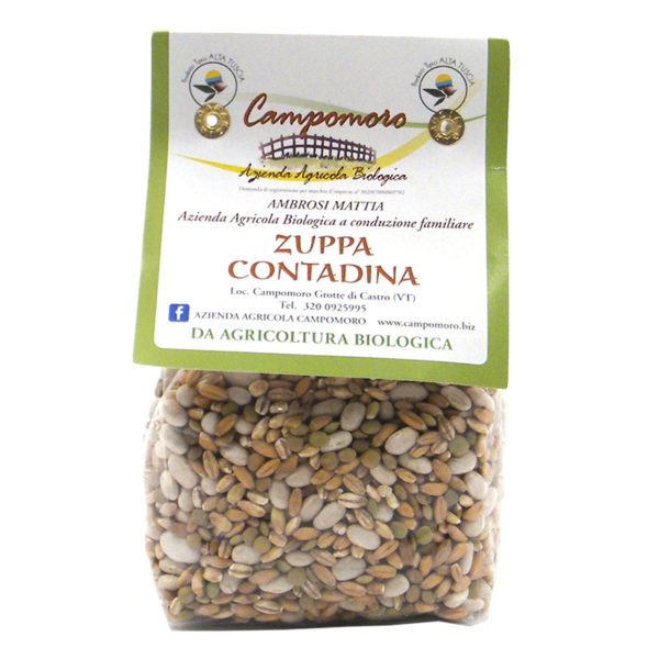 Zuppa contadina bio Campomoro